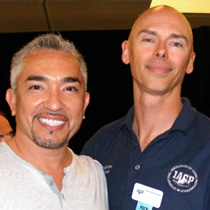 Cesar Millan, The Dog Whisperer and Tod